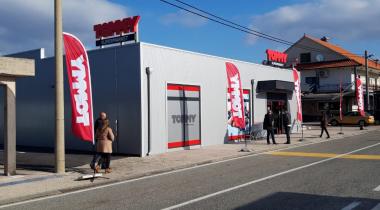 Otvoren Supermarket Cista Provo