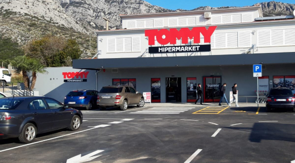 Otvoren Hipermarket Orebić