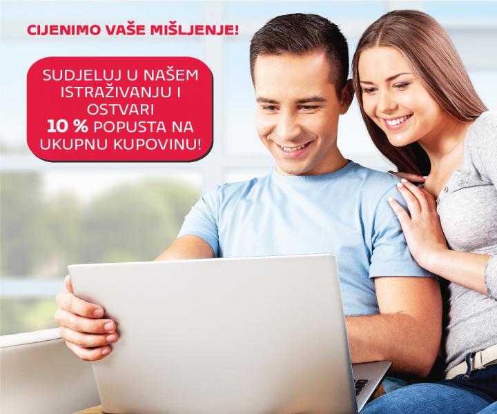 Cijenimo Vaše mišljenje!