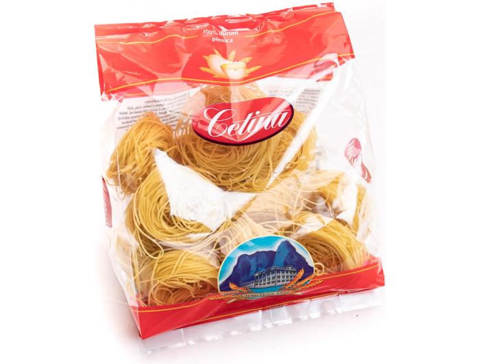 Cetina tjestenina savijena deblja br. 66 s jajima 400 g