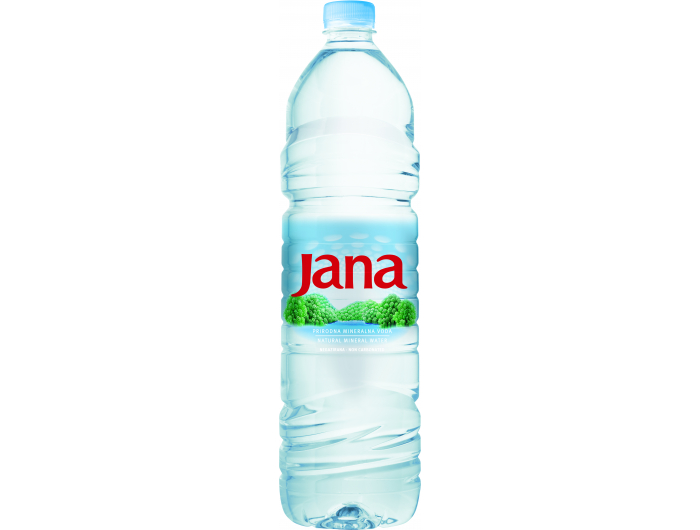 Jana  Prirodna mineralna negazirana voda Voda 1,5 L