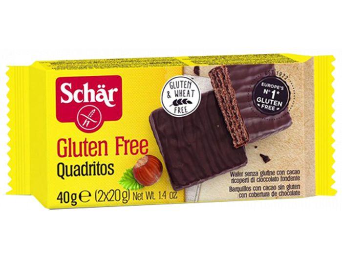Napolitanke, 40 g, bez glutena, kakao, Schar
