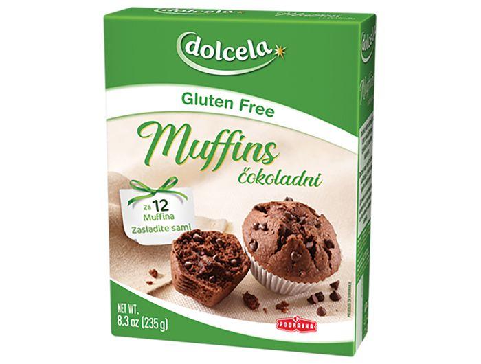 Podravka Dolcela mješavina za muffins bez glutena 235 g