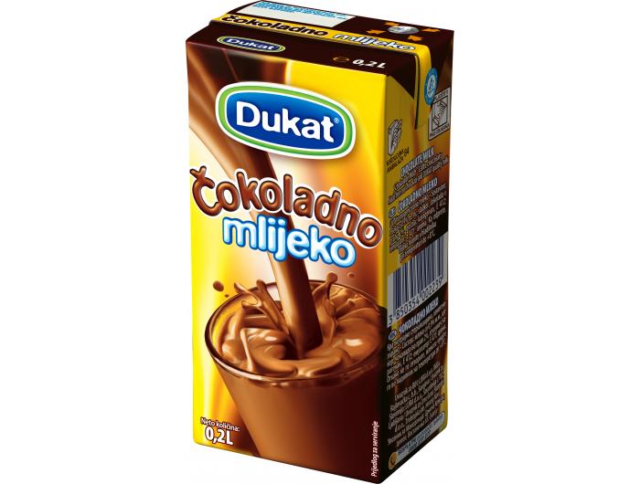Dukat čokoladno mlijeko 0,2 L