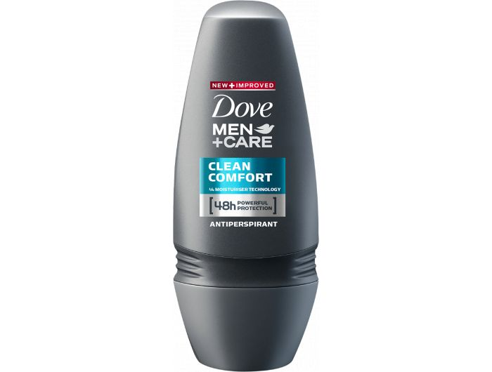 Dove men Dezodorans roll on clean comfort 50 ml