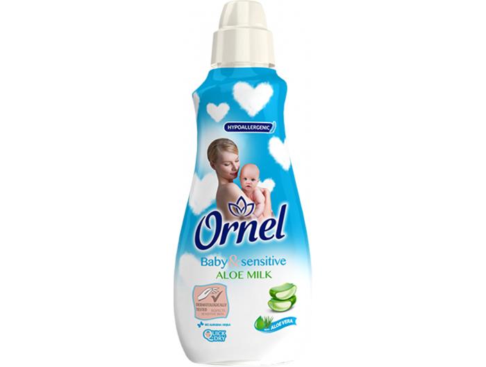 Ornel Baby & sensitive omekšivač za rublje Aloe Milk 900ml