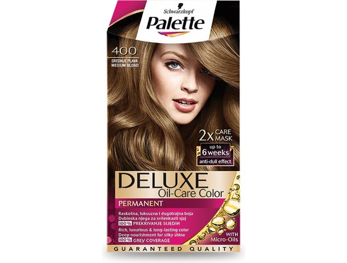 Palette Deluxe 400 srednje plava boja za kosu 1 kom