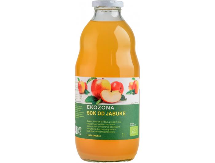 Ekozona BIO sok od jabuke 1 L