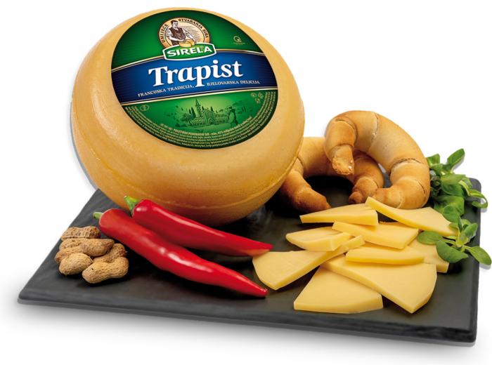 Sirela sir Trapist 45% m.m.1 kg