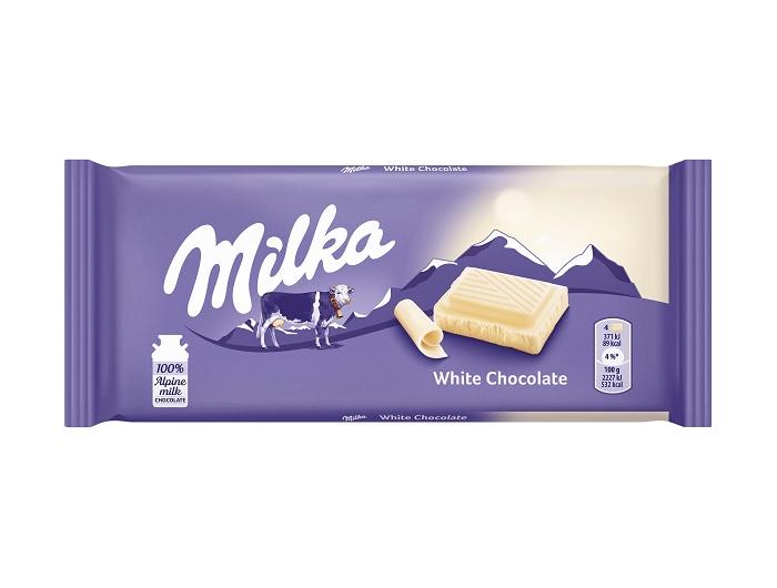 Milka čokolada bijela 100 g