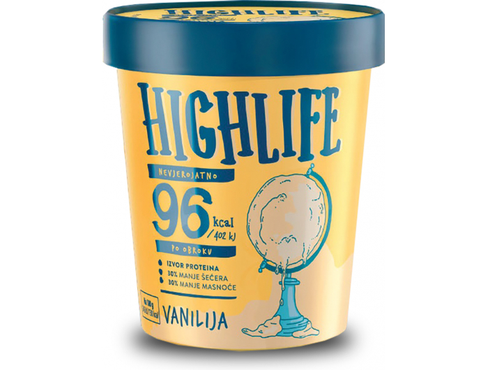 Ledo Highlife sladoled vanilija 460 ml