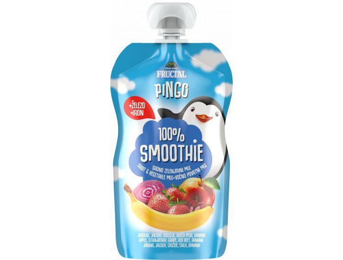 Fructal Pingo 100 % Smoothie jagoda i cikla 110 g