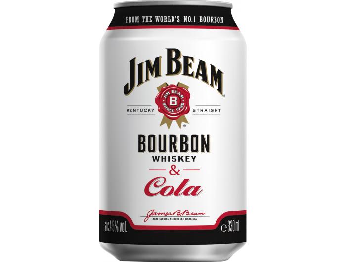 Jim Beam i Cola 0,33 L