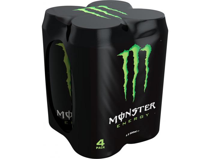 Monster Energy 4 X 0,5 L