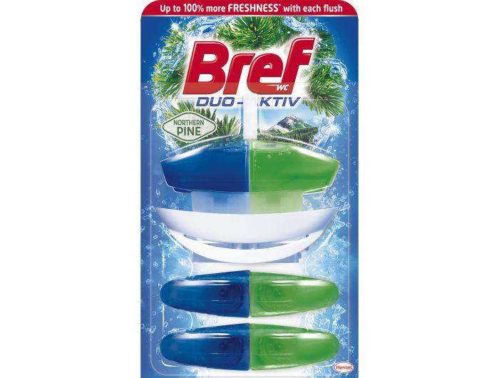 Bref Duo Aktiv Pine Original+ 2 refill 100 g