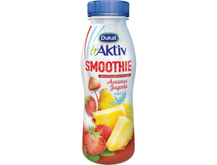 Dukat b.Aktiv jogurt voćni jagoda i ananas 330 g