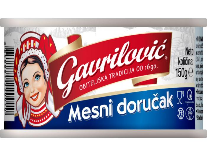 Gavrilović mesni doručak 150 g