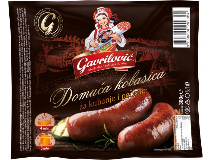 Gavrilović domaća kobasica 300 g