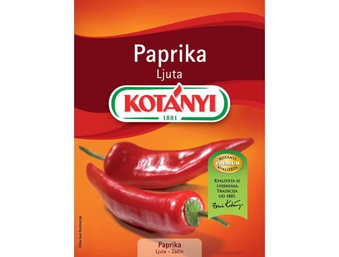 Kotanyi ljuta paprika 35 g