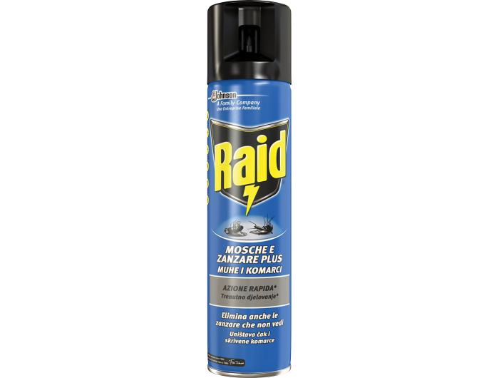 Raid Sprej za muhe i komarce 400 ml
