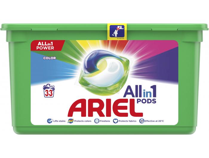 Ariel gel kapsule Color 33 kom