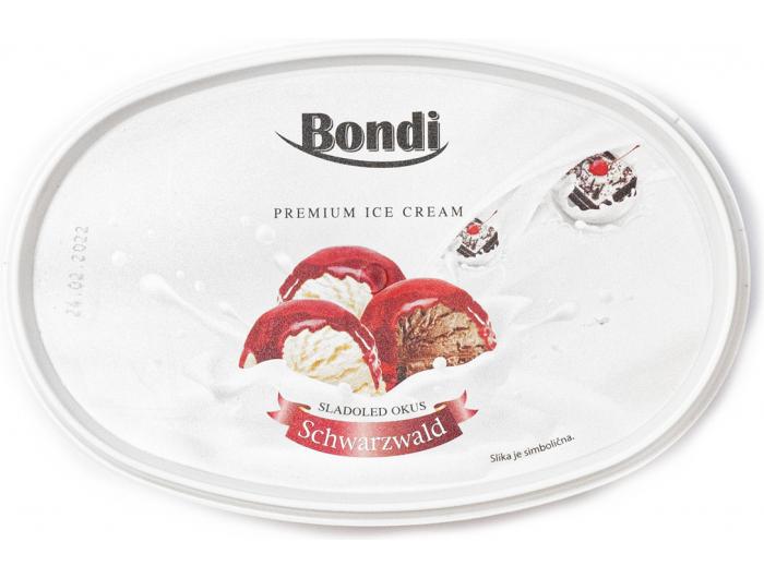 Bondi sladoled schwarzwald 1 L
