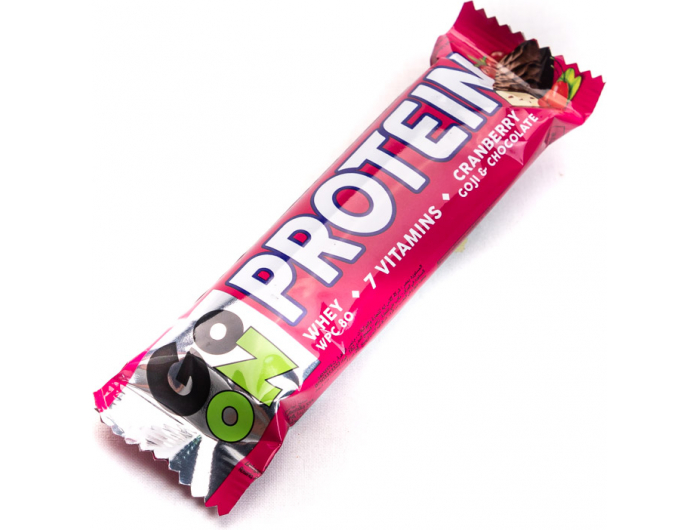 Go -On  proteinska pločica s brusnicama 50 g