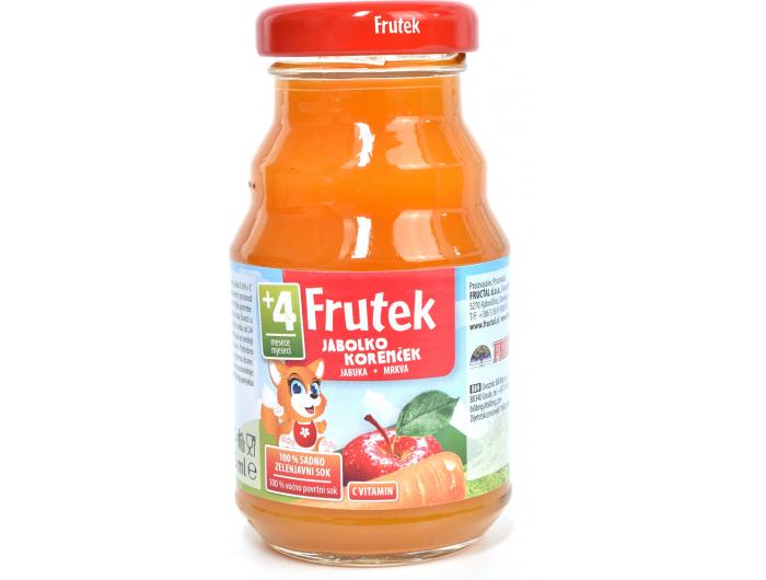 Fructal Frutek voćni sok od Frutek sok od mrkve i jabuke 125 ml