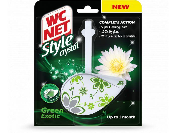 WC Net  Uložak za čiščenje i dezinfekciju toaletne školjke green 36,5 g