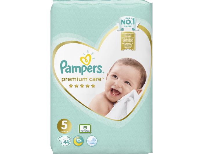 Pampers Premium Care Dječje pelene vel. 5 (11-16 kg) 44 kom
