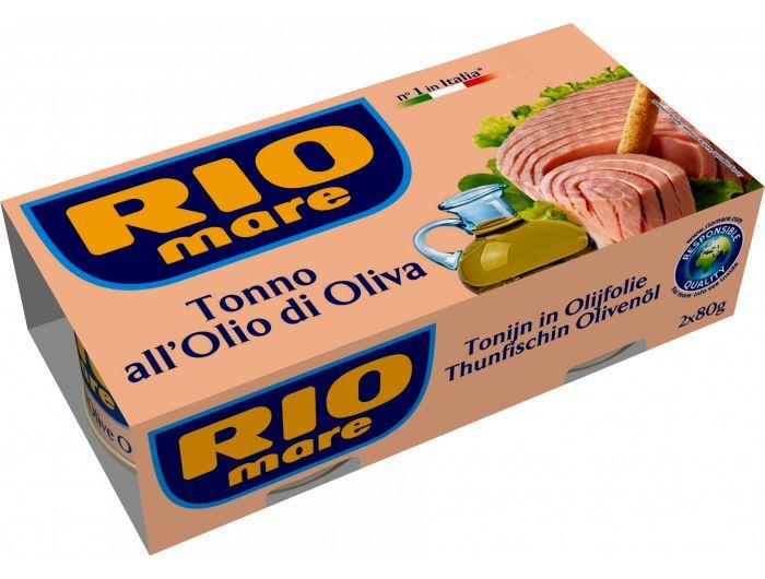 Rio Mare tuna s maslinovim uljem 1 pak 2x80 g
