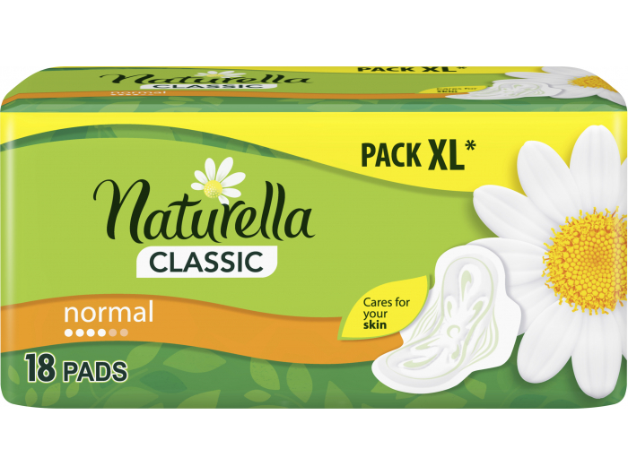 Naturella Classic Normal Higijenski ulošci camomile 18 kom