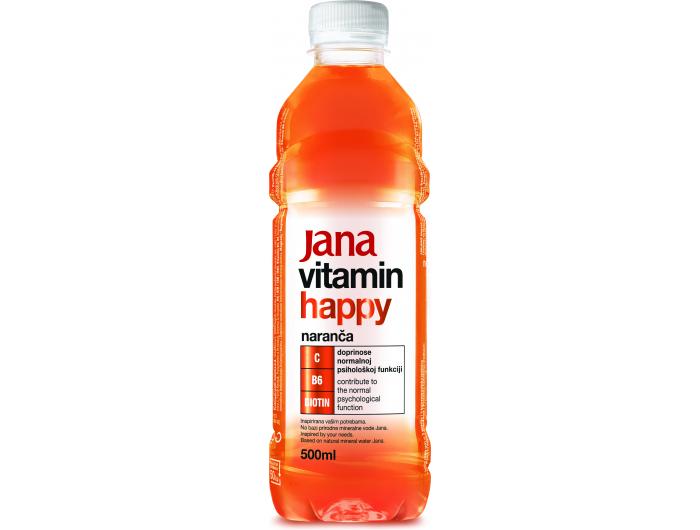 Jana voda vitamin happy 0,5 L