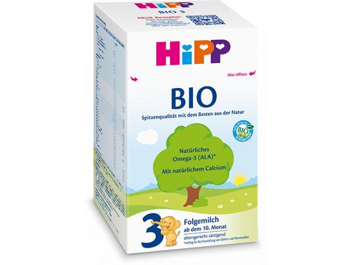 Zamjensko mlijeko, 600 g, bio, Hipp 3