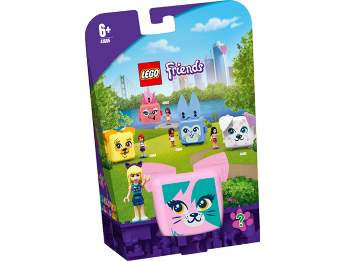 Lego Friends Stephaniena kocka za igru - mačka