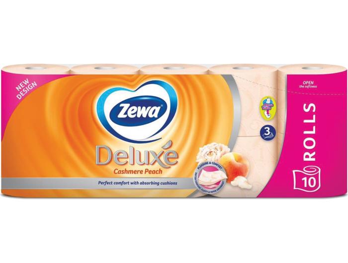 Zewa toaletni papir troslojni s mirisom breskve  1 pak 10 rola