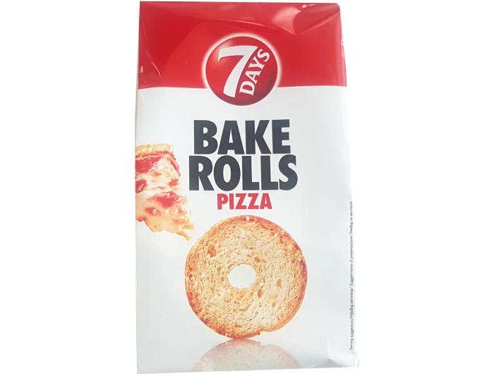 7 days Bake rolls dvopek pizza 70 g