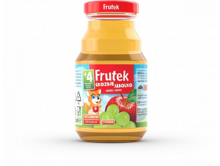 Frutek Dječji sok grožđe i jabuka 125 ml