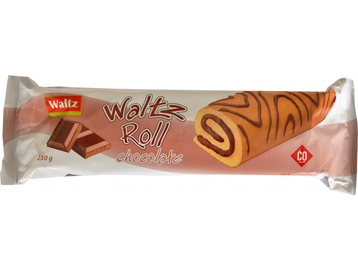 Waltz rolat punjen kremom od čokolade  250 g