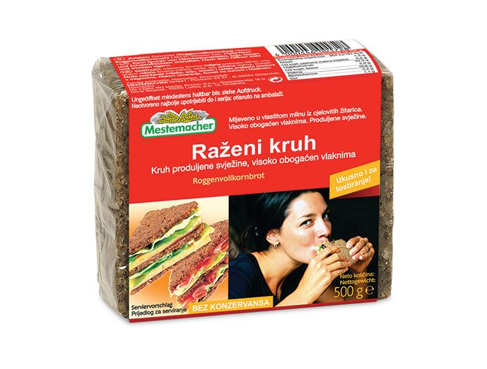Mestemacher kruh raženi 500 g