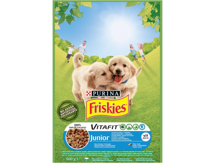 Friskies Purina Hrana za pse junior 500 g