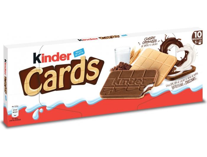 Kinder cards keks 128 g