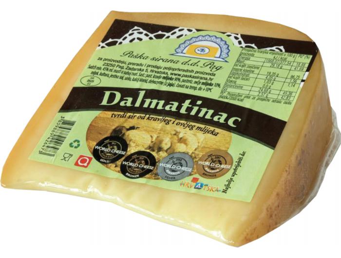 Paška sirana Dalmatinac sir 200 g