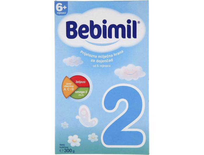 Bebimil 2 prijelazna mliječna hrana 300 g