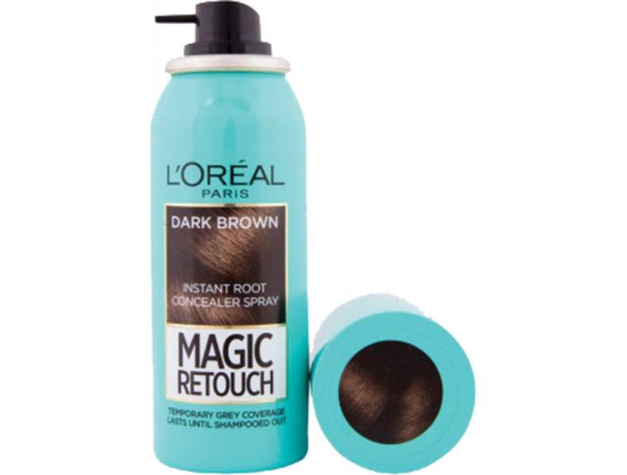 L'Oreal Paris Magic Retouch dark brown sprej za prikrivanje izrasta 75 ml