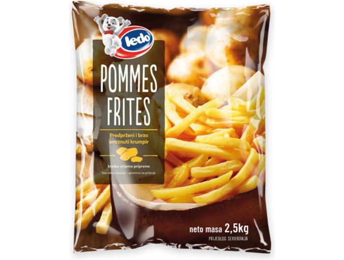 Ledo pommes frites 2,5 kg