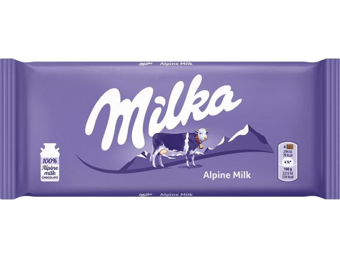 Milka čokolada mliječna 80 g