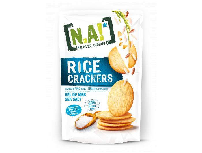 Nature Addicts rižini krekeri 70 g