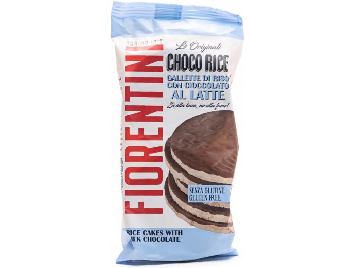 Fiorentini rižini krekeri s mlječnim čokoladom 100 g