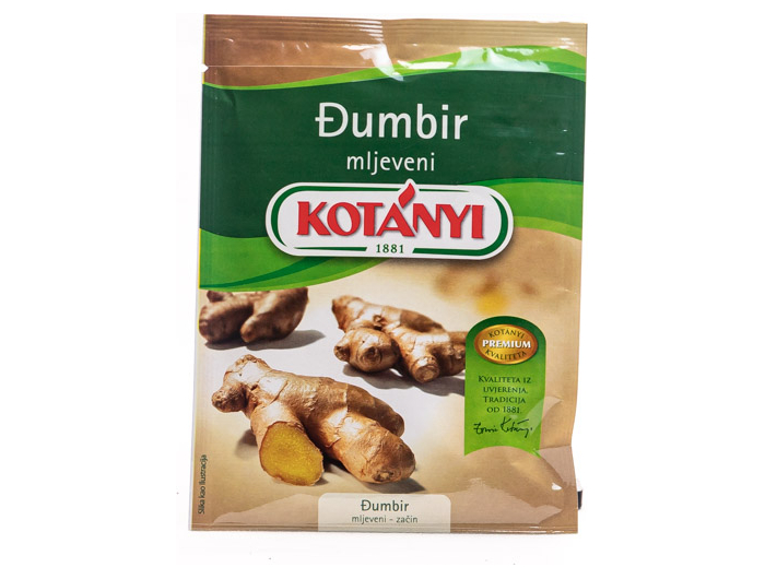Kotanyi mljeveni đumbir  24 g